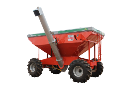Grain Trailer Granbox for Harvesting – 4 Wheels