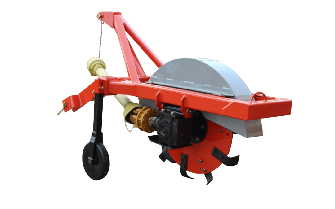 Rotating Trencher No-Tillage